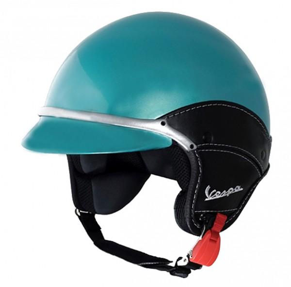 Vespa Jethelm Soft Touch FL - Verde Porto Venere