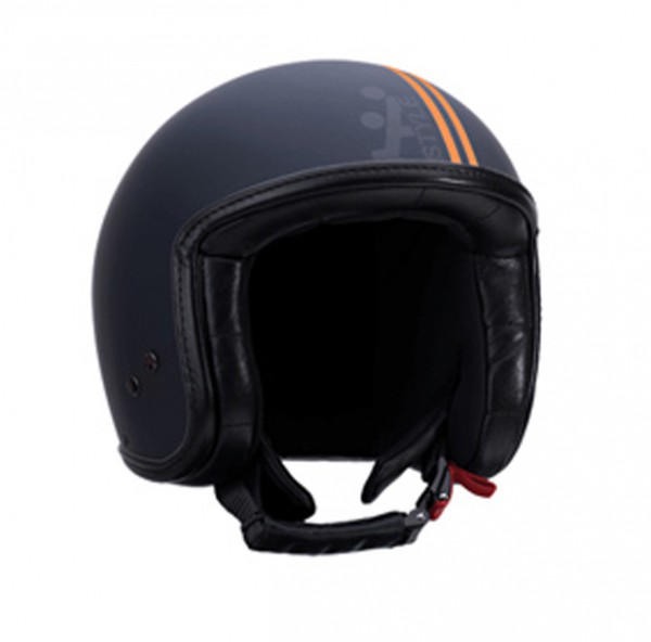 A-Style Jet-Helm Intercity orange schwarz-matt
