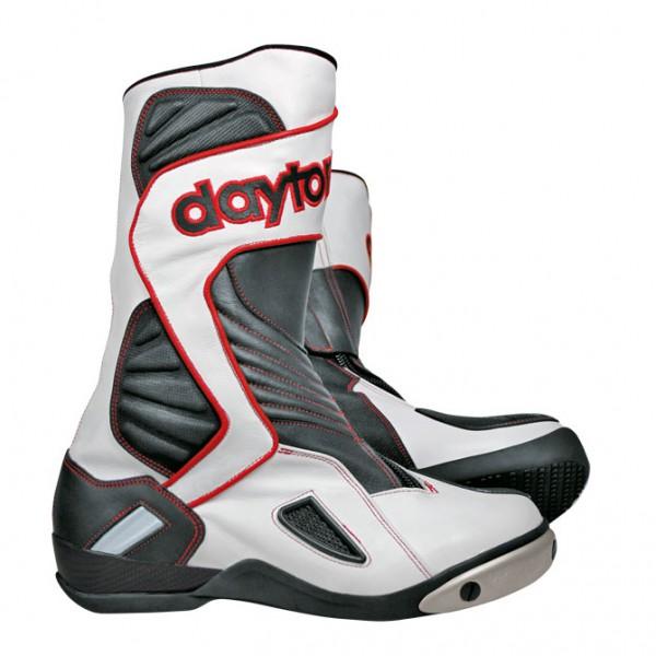 Daytona Evo Voltex GTX Stiefel - Weiß-Schwarz- Rot
