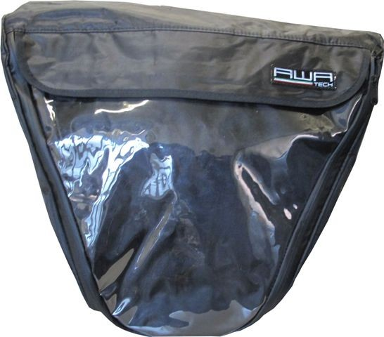 Tunneltasche, schwarz, 50 l