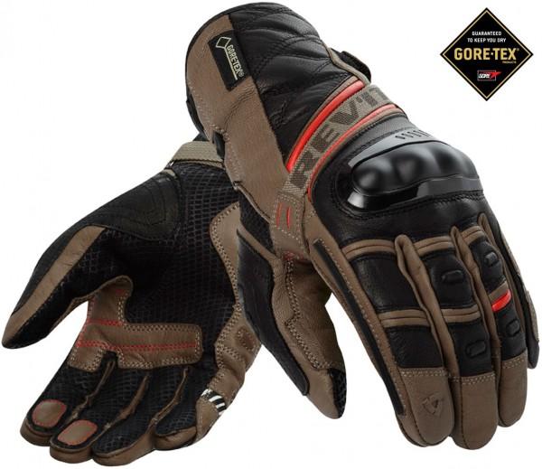 Revit Dominator GTX Handschuhe - Sand-Rot