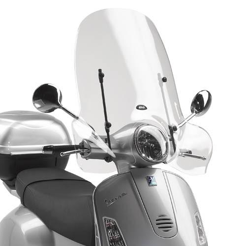 Givi Windschild Vespa LX / GT / GTS / Super - klar