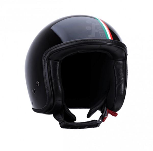 A-Style Jet-Helm Intercity Schwarz Italy