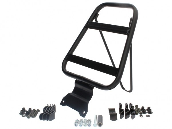 Gepäckträger, hinten, schwarz, starr, für Top Case 656405