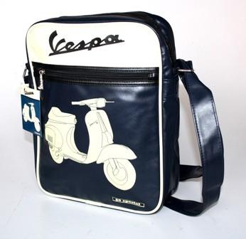 Vespa Tasche, blau