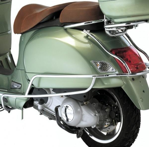 Sturzbügel hinten, chrom für Vespa GTS, GTV, GTS Super