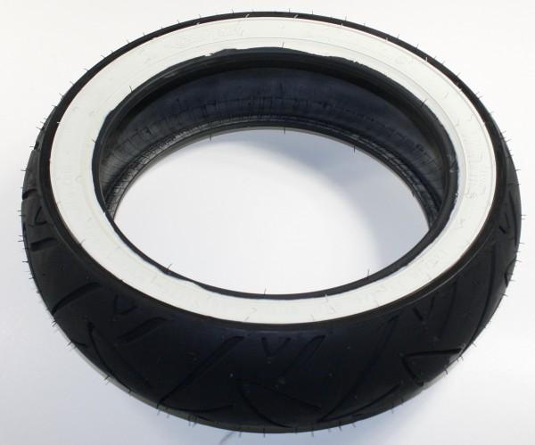 Continental Reifen 120/70-12, 58P, TL, Twist, Weißwand