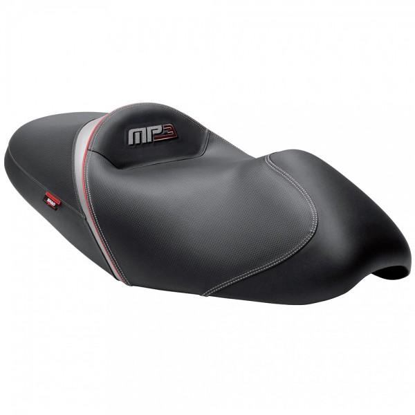 Shad Komfort Sitzbank Piaggio MP3 schwarz-grau-rot
