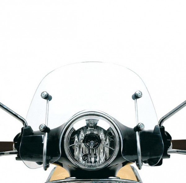 "Windschild ""Cruiser"" klar Vespa LX"