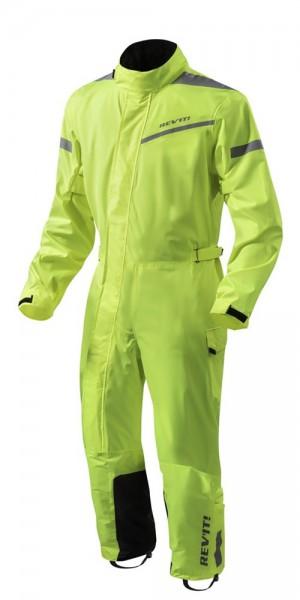 Revit Pacific 2 H2O Einteilige Textilkombi - Neon Gelb-Schwarz